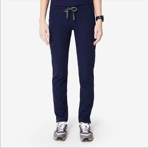 Figs navy yola pants